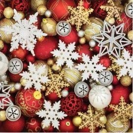 Weihnachtsservietten für die schöne Weihnachtszeit. Perfekt neben dem Teller